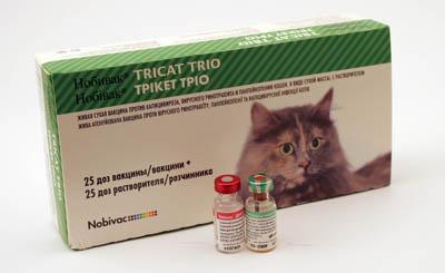 вакцина нобивак трикет трио для кошек инструкция - фото 5